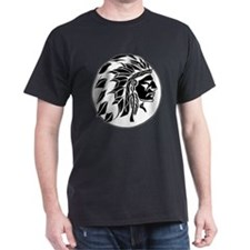 Indian Chief Head T-Shirt