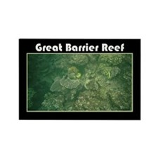 Great Barrier Reef Rectangle Magnet
