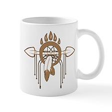 Brown Dreamcatcher Mug
