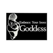 Inner Goddess Rectangle Magnet (10 pack)