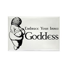 Inner Goddess Rectangle Magnet