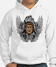 Indian Chief Wings Hoodie