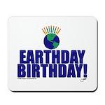 earthday_Birthday Mousepad
