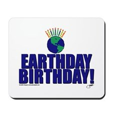 earthday_Birthday Mousepad