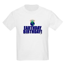 earthday_Birthday Kids T-Shirt