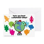 Have you been a Planetpal, today? Greeting Card