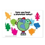 Have you been a Planetpal, today? Postcards (Packa