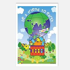Cute Earthday Postcards (Package of 8)