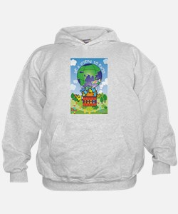 Funny Recycle earth Hoodie