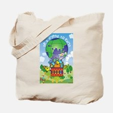 Cute Recycling Tote Bag
