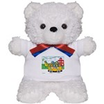 Planetpals Cool for School Plush Teddy Bear