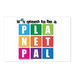 It's Green to be a Planetpal Postcards (Package of