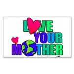 Love Your MOther Design from Planetpals Sticker (R