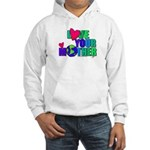 Love Your MOther Design from Planetpals Hooded Swe