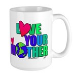 Love Your MOther Design from Planetpals Large Mug
