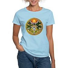 Litha/Summer Solstice Pentacl T-Shirt