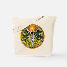 Litha/Summer Solstice Pentacl Tote Bag
