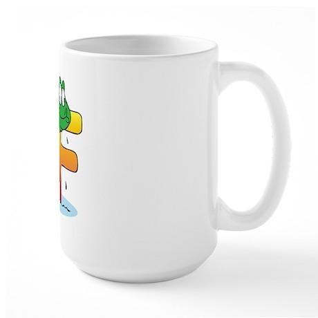 """Animals """"F"""" Large Mug"""