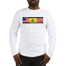 3-flags Long Sleeve T-Shirt
