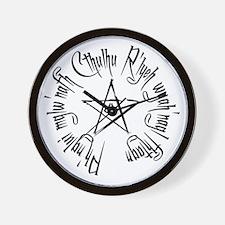 Cthuhlu Waits Wall Clock