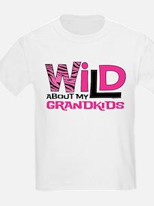 Wild About My Grandkids T-Shirt