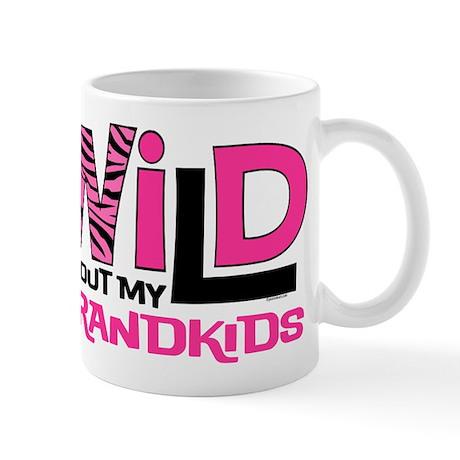 Wild About My Grandkids Mug