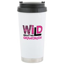 Wild About My Grandkids Travel Mug