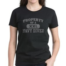 Property of a Navy Diver Tee