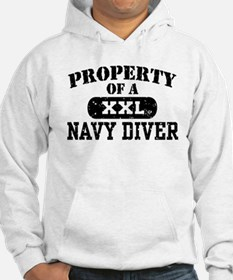 Property of a Navy Diver Hoodie