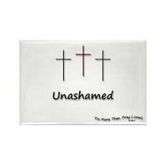 Rectangle Magnet (100 pack) - 3 Crosses Unashamed