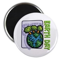 Earth Day Trees Magnet