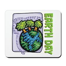 Earth Day Trees Mousepad