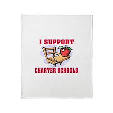 KIDS LEARN MORE Throw Blanket