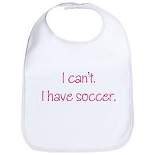 Soccer (Pink) Bib