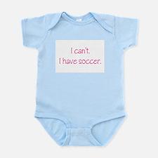 Soccer (Pink) Infant Bodysuit
