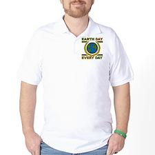 Earth Day Laurel Leaves T-Shirt