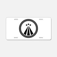 Druid Symbol Aluminum License Plate