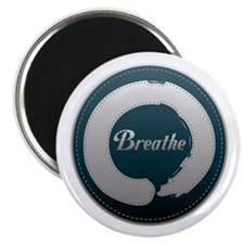 "Breathe Enso 2.25"" Magnet (10 pack)"