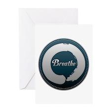Breathe Enso Greeting Card