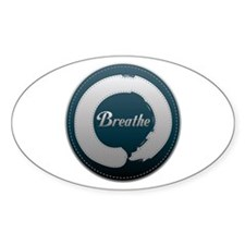 Breathe Enso Decal