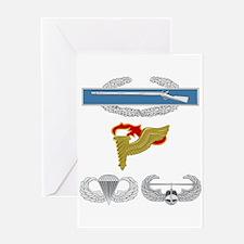 CIB Pathfinder Airborne Air Assault Greeting Card