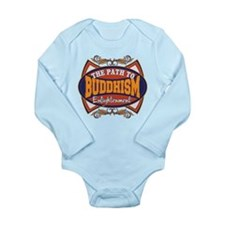 Buddhism Path to Enlightenment Long Sleeve Infant