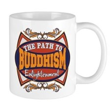 Buddhism Path to Enlightenment Mug