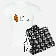 i yam what i eat Pajamas