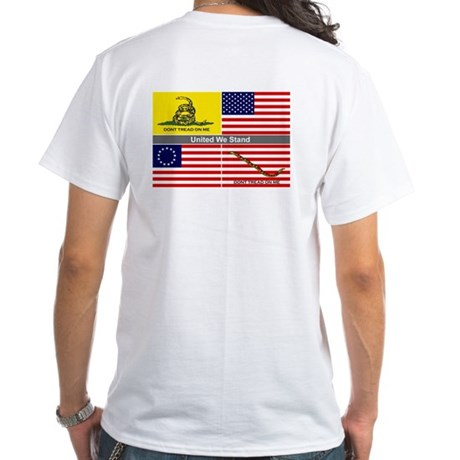 White United We Stand T-Shirt