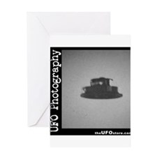 UFO Photography 4 Greeting Card