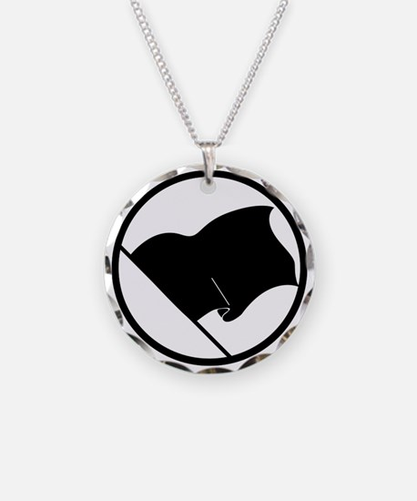 Anarchist's Flag Necklace