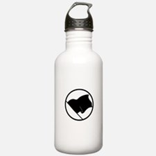 Anarchist's Flag Water Bottle