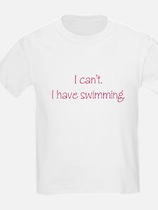 Swimming (Pink) T-Shirt
