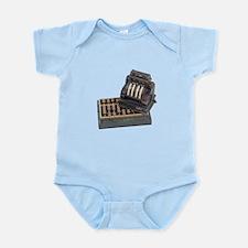 Tallying Business Finances Infant Bodysuit